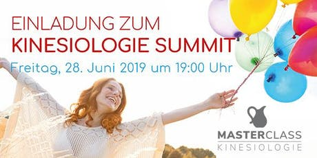 Kinesiologie Summit 2019 Tickets