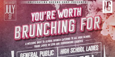 YOU'RE WORTH BRUNCHING FOR tickets