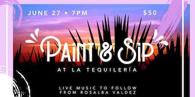 Summer Series: Paint & Sip