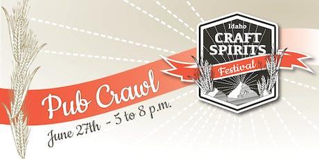 Idaho Craft Spirits Festival  tickets