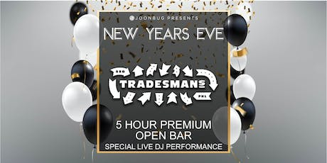 Joonbug.com Presents Tradesmans New Years Eve Party 2020 tickets