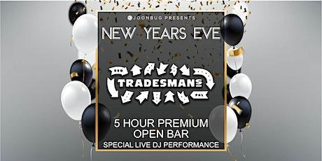 Joonbug.com Presents Tradesmans New Years Eve Party 2020 tickets