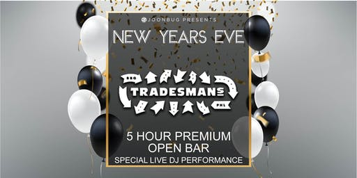 Joonbug.com Presents Tradesmans New Years Eve Party 2020
