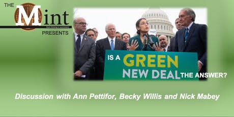 Is a Green New Deal the answer? tickets