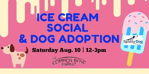 Ice Cream Social & Dog Adoption Event