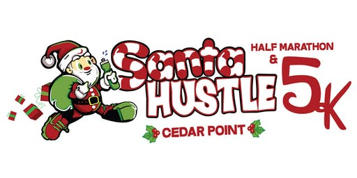 Santa Hustle® Cedar Point 5K, Half Marathon, and Kids Dash