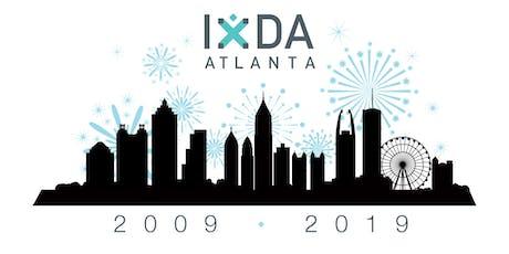 IxDA Atlanta 10 Year Anniversary Party tickets