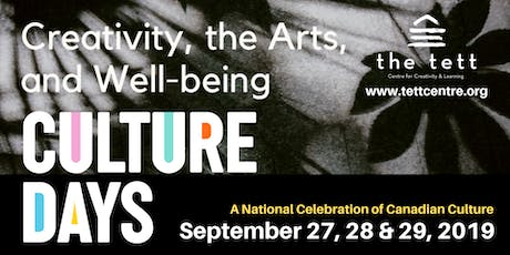 Culture Days 2019 tickets