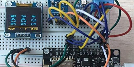 Build Your Own Weather Assistant With Arduino! tickets