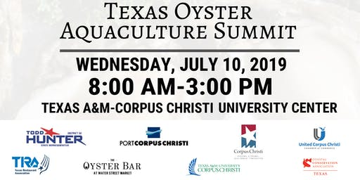 Texas Oyster Aquaculture Summit - A New Industry For Texas