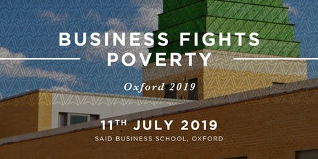 Business Fights Poverty Oxford 2019 tickets