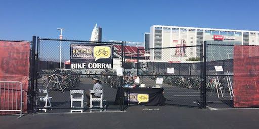 2019 Volunteer: Levi's Bike Parking - 49ERS VS. CHARGERS – PRESEASON WEEK 4