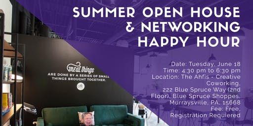 Summer Open House & Networking Happy Hour