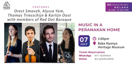 Music in a Peranakan Home | Pop-up Concert tickets