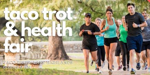 Taco Trot Fun Run and Health Fair