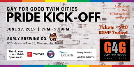Gay For Good Twin Cities Pride Kickoff tickets