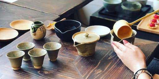 Japanese Tea Tasting Event