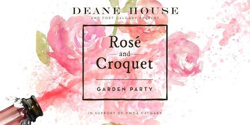 Rosé and Croquet Garden Party