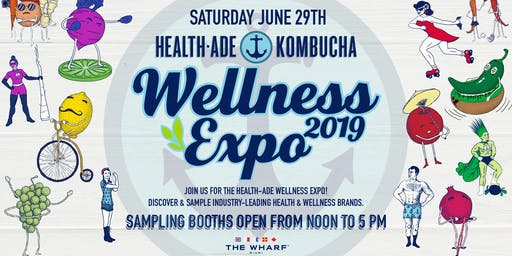 Wellness Expo 2019 by Health-Ade / Kombucha