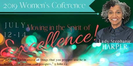 """Moving in the Spirit of Excellence"" 2019 Women's Conference tickets"