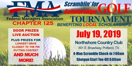 FMA Chapter 125 17th Annual Scramblin' for Scholarships Golf Tournament