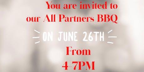 All Partner BBQ tickets