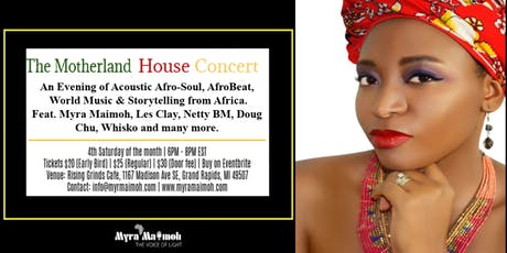 The Motherland House Concerts tickets
