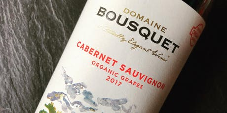 Argentinian Organic Wine Tasting with Domaine Bousquet tickets