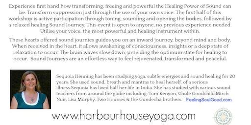 Sound Healing Workshop & Journey