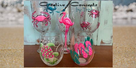 Gone Wild with Pink Glasses Paint Night tickets