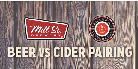 Mill St. Beer Vs. Brickworks Cider tickets