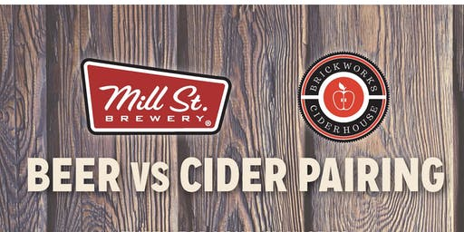 Mill St. Beer Vs. Brickworks Cider