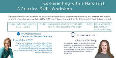 A Practical Skills Workshop for Co-Parenting With a Narcissist tickets