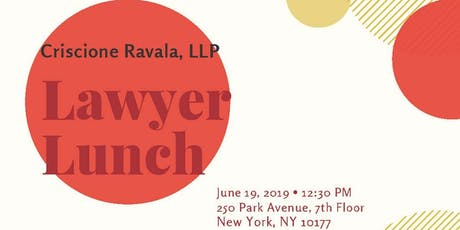 Criscione Ravala Lawyer Lunch tickets