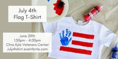 July 4th Flag T-Shirt