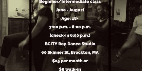 Adult AdvBeginner/Intermediate ~ Brockton Urban/Soul Line Dancer Summer Classes  tickets
