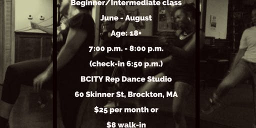 Adult AdvBeginner/Intermediate ~ Brockton Urban/Soul Line Dancer Summer Classes