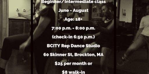 Brockton Urban/Soul Line Dancer Summer Classes