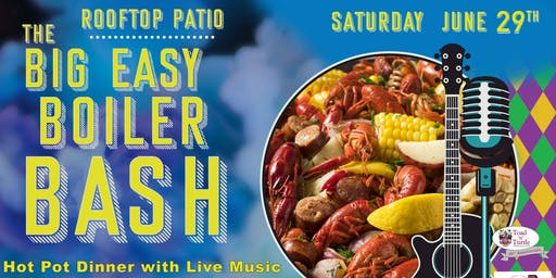 The Big Easy Boiler Bash 2019: A Hot Pot Dinner