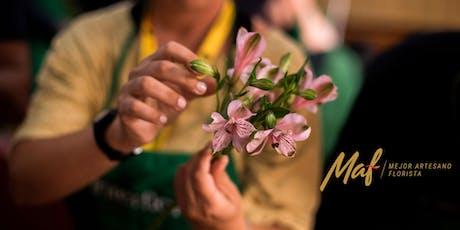 Taller floral gratuito para amantes de las flores. 4 entradas