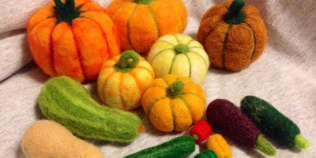 Needlefelting: Fruits & Vegetables tickets