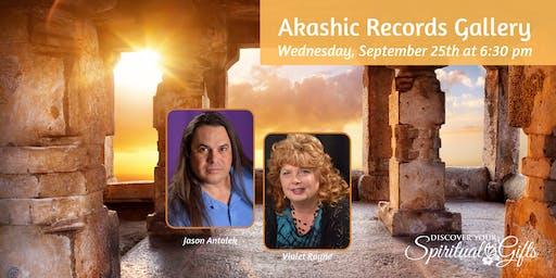 Akashic Records Gallery with Jason Antalek & Vialet Rayne