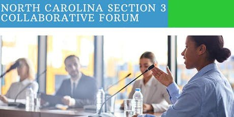 North Carolina Section 3 Collaborative Forum tickets