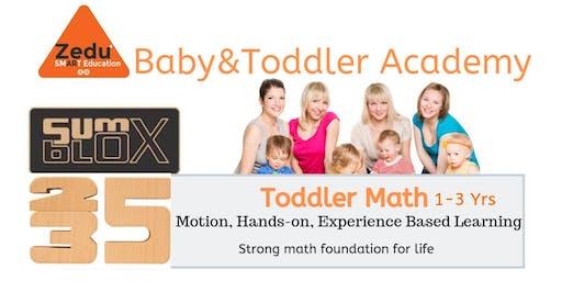 Summer Fun Toddler Math 1-3 Yrs