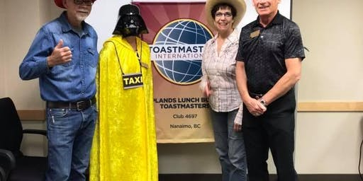 Farewell to Uplands Lunch Bunch Toastmaster's Club
