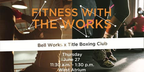 FITNESS WITH THE WORKS tickets