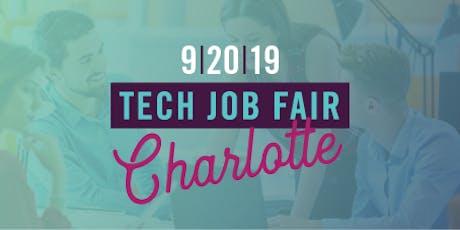 NC TECH's Job Fair in Charlotte (September 2019) tickets