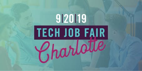 NC TECH's Job Fair in Charlotte (September 2019)