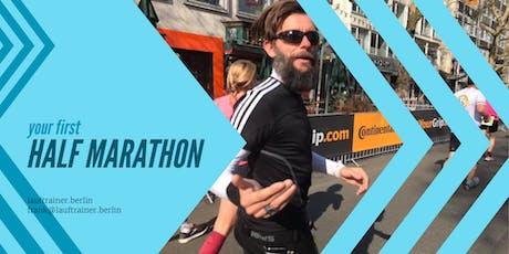 Your first half marathon | Dein erster Halbmarathon  Tickets