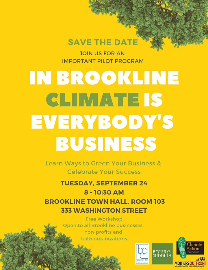 In Brookline, Climate is Everybody's Business image